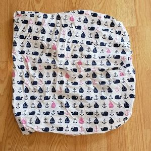 Nautical Fitted Crib Sheet